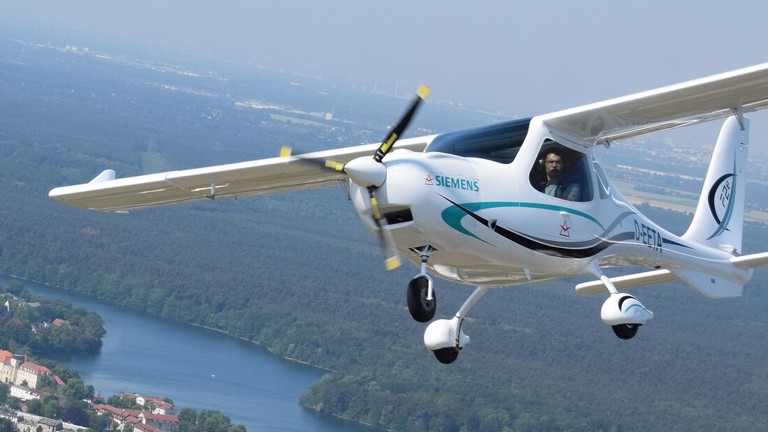 Flight Design F2e mit Siemens-Elektromotor.