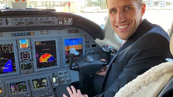 Rene Reisacher Flugschüler bei der AAA