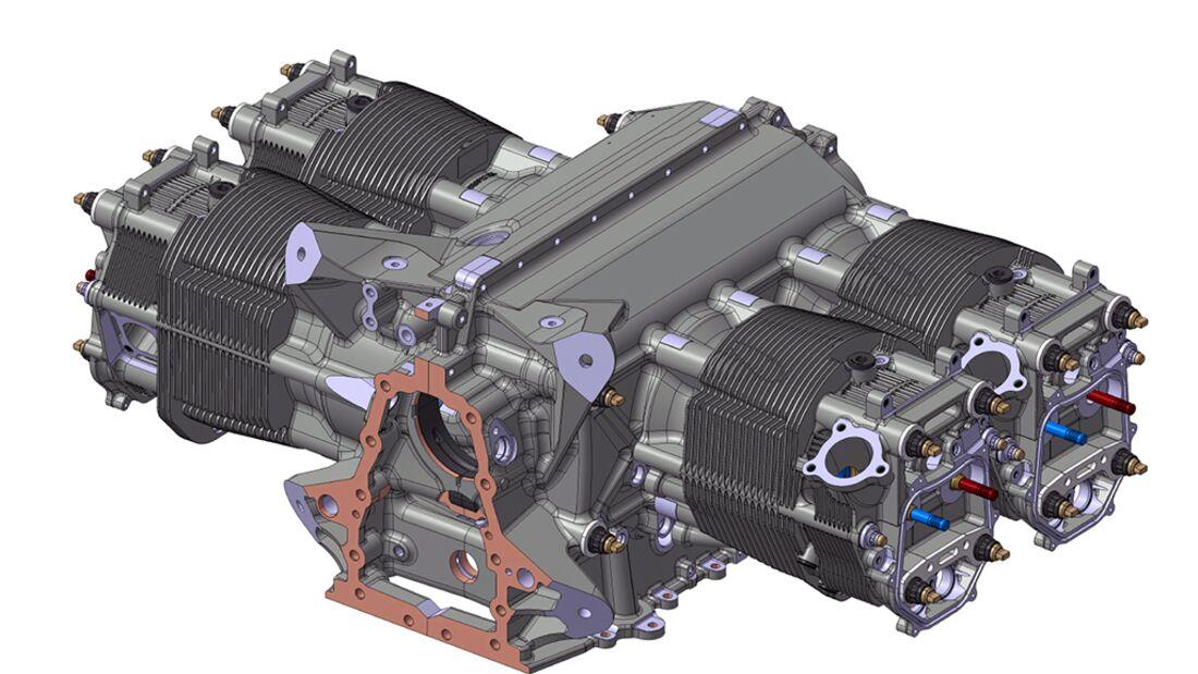 Mittlerer Körper F-202 M vgl. ARNETOLI MOTOR // Mod